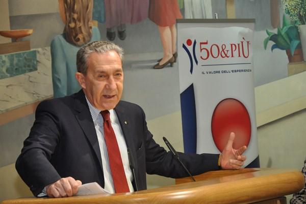 il presidente Borghi